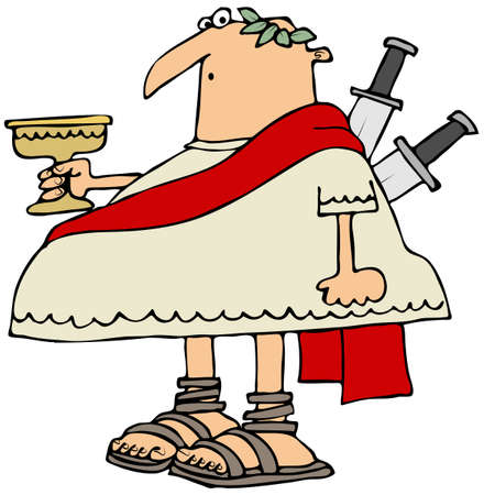 ides: Ides of March Stock Photo