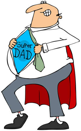 daddy: Super Dad