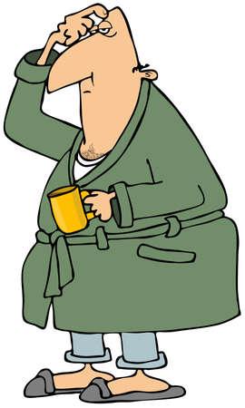 pijama: Cafe mañanero
