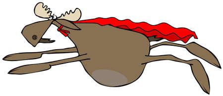 moose: Flying moose hero