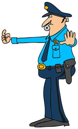 holster: Traffic cop