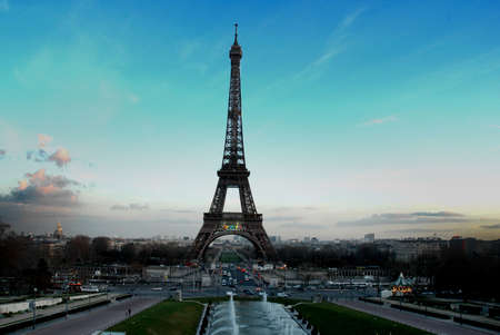 building monumental: Eiffel Tower