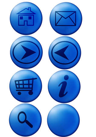 Web buttons Stock Photo - 472236