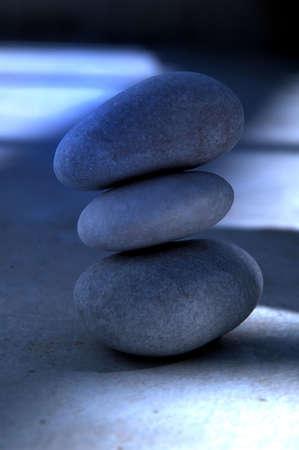 eastern philosophy: Zen stones