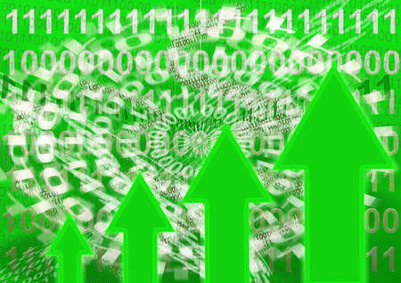 virus informatico: binario de fondo