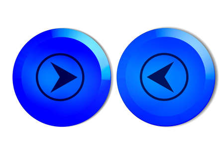 buton for navigation Stock Photo - 795964