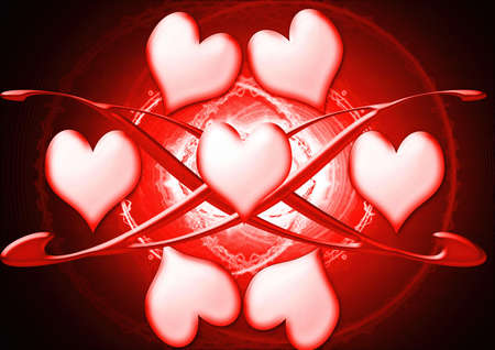 heart background photo