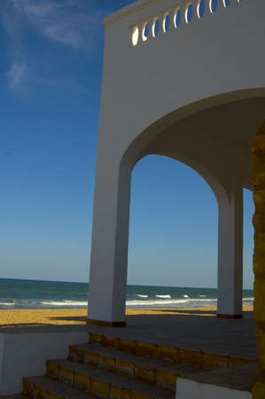 lanscape: Beach in Andalucia Stock Photo