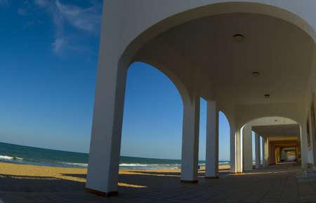 lanscape: Sea and beach Stock Photo