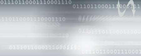 web banner about communication, technology, programming, ect... Stock Photo