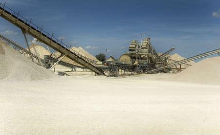 excavate: sand extraction