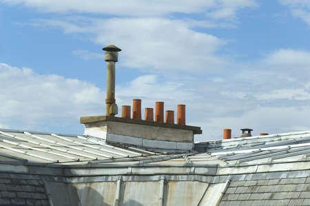 Parisian roof