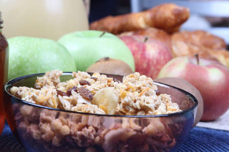muesli: Breakfast with muesli