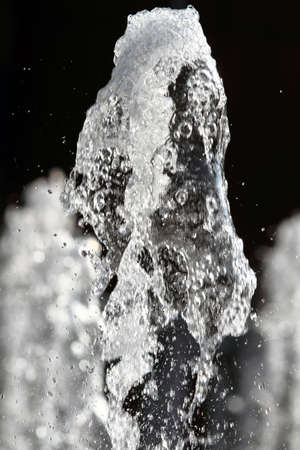 water jet: water jet Stock Photo