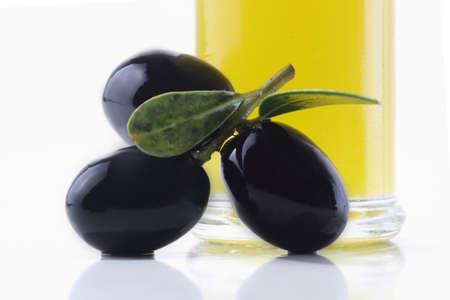 extra: Extra virgin olive oil Stock Photo