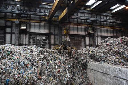 グリップから収集した一般廃棄物処理