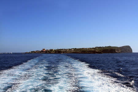 pontine: the profile of the island of Ventotene