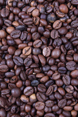 beans on toast: Coffee beans on the wood and burlap sack