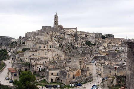 matera: the stones of Matera world heritage Unescu Stock Photo
