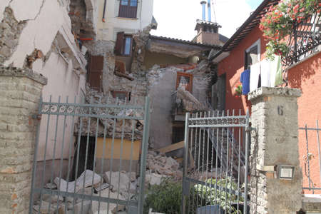 rieti: The earthquake in Amatrice on septembre, 24th 2016