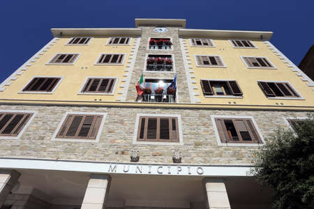 Sant'Agata di Puglia - 29 July 2020: The municipal building