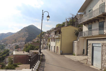 A glimpse of the small town in the Casertano area