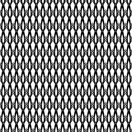 Elegant seamless black and white pattern. illustration for beautiful creative design