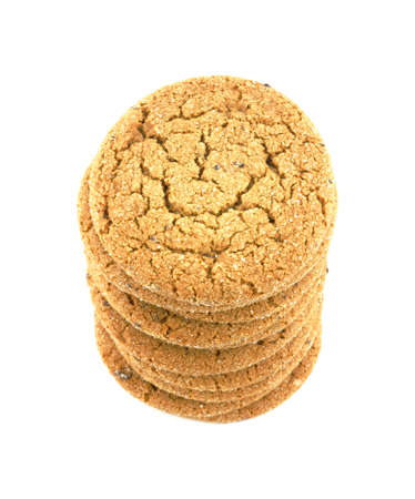 A nice view of golden brown molasses cookies. Stock Photo - 4987084