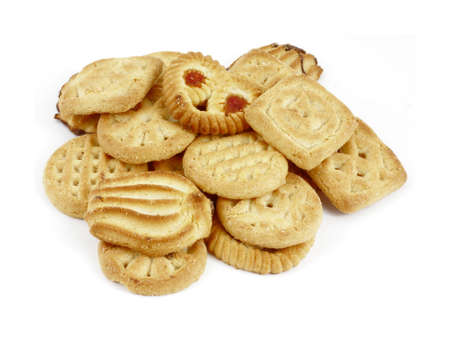 tempting: A great view of a variety of tempting cookies.