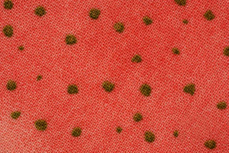 spot the difference: An interesting view of a colorful mottled fabric design. Stock Photo