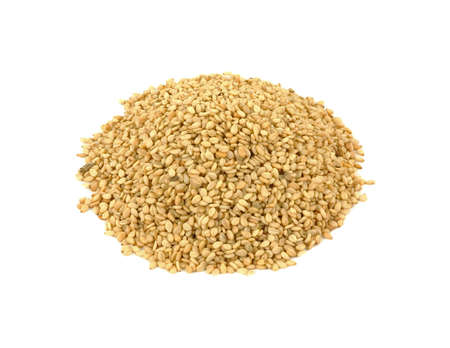 A nice overhead view of a mound of sesame seeds. Stock Photo - 6447260