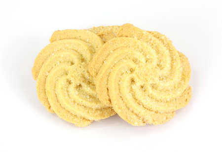 tempting: A tempting view of swirling shaped cookies.