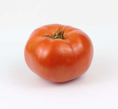 hot house: A great view of a hot house beefsteak tomato.
