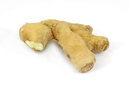 potent: The reverse side of a piece of ginger root.