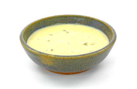 apio: Un tentador taz�n de conserva crema Crema de apio.