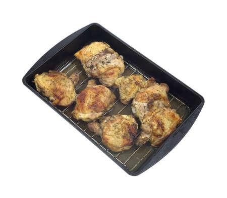 charnu: Cuisses de poulet au four charnues � un angle