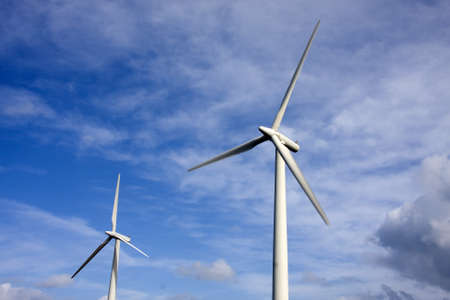 wind turbine, ecology and renewable energy photo