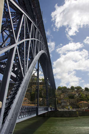 iron bridge, porto, portugal photo