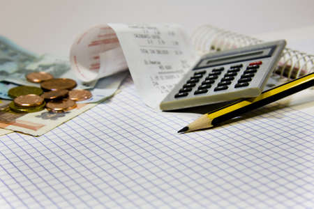 accounting, finance and business Stock Photo - 9180915