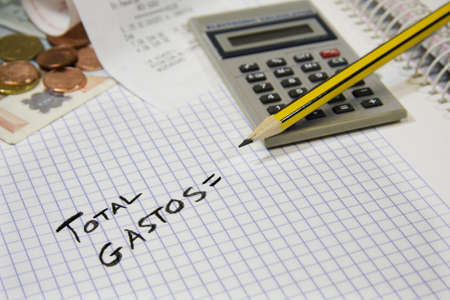 accounting, finance and business Stock Photo - 9180863