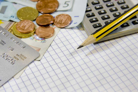 accounting, finance and business Stock Photo - 9180921