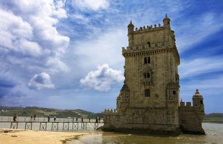 belem: torre de Belem, Lisbon, Portugal, Europe