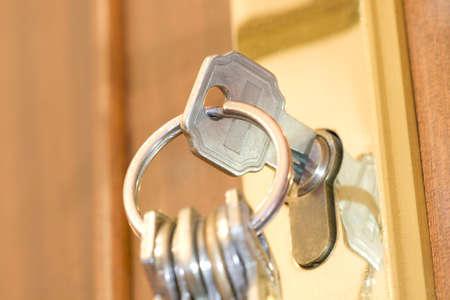 hypothec: house key
