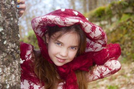 vintage girl Stock Photo - 9296662