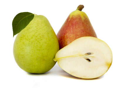 pear isolated on white background