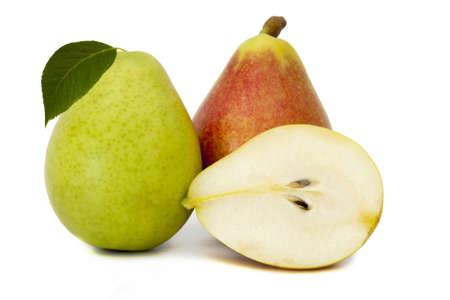 pear: pera aislada sobre fondo blanco