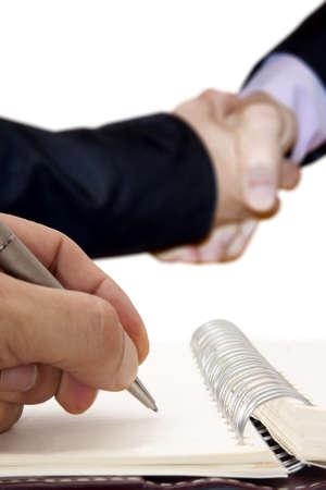 negotiation: gente de negocios