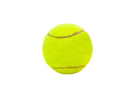 Geïsoleerde tennisbal Stockfoto - 10624076