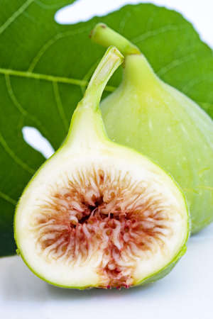 figs isolated on white background