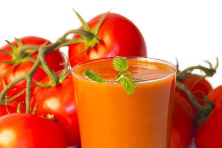 tomato juice photo